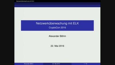 Netzwerküberwachung mit ELK