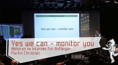 Yes we can – monitor you