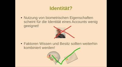 Identität gewährleisten - private Daten schützen
