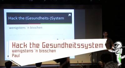 Hack the (Gesundheits-)System, wenigstens 'n bisschen