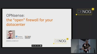 "OPNsense: the ""open"" firewall for your datacenter"