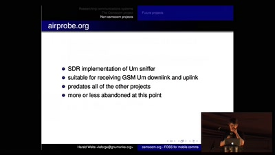 Osmocom - Open Source Mobile Communications