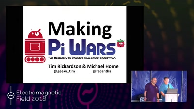 Pi Wars - Challenging kids (and adults) to build competitive robots