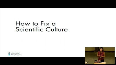 Keynote: How to Fix a Scientific Culture: Psychology as a Cautionary Tale and Paragon