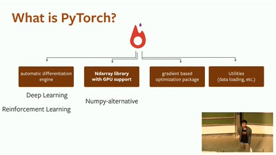 Keynote: PyTorch: a framework for fast, dynamic deep learning and scientific computing
