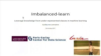 Leverage knowledge from under-represented classes in machine learning: an introduction to imbalanced-learn