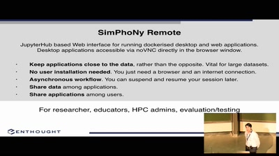 Simphony-Remote - Accessing containerized desktop and web applications with a web browser