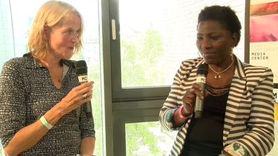 Interview mit Clotilde Ohounochi