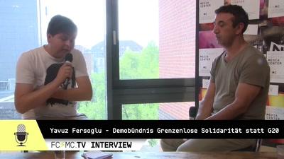 Interview mit Yavuz Fersoglu, Demobündnis Grenzenlose Solidarität