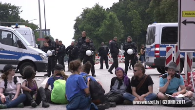 G20 Blockade Schlump, Graswurzel TV