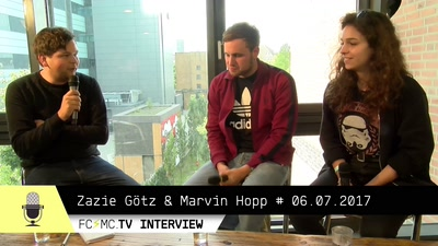 Interview Zazie Götz und Marvin Hopp