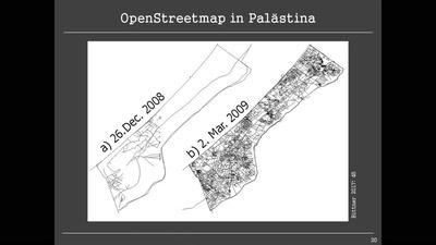 OpenStreetMap in Israel und Palästina – zwei ungleiche Geschichten