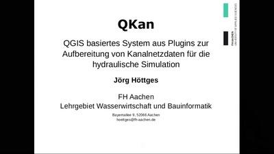 QKan - QGIS Plugins zur Aufbereitung von Kanalnetzdaten für Simulationen