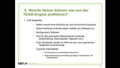 TEAM Engine - Eine Validierungs-Engine für OGC Geodienste und -formate - Wie kann ich von diesem Tool profitieren?