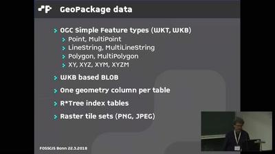 GeoPackage als Arbeits- und Austauschformat