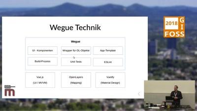 Wegue - WebGIS-Anwendungen mit OpenLayers und Vue.js