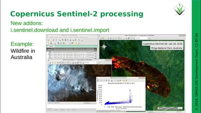 Neues aus dem GRASS GIS Projekt: die 7.4.0 Version steht bereit