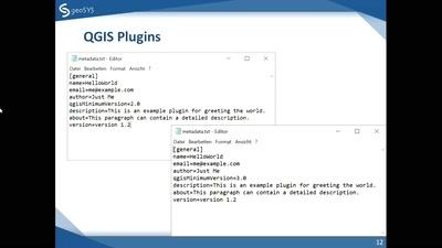 Entwicklung von Plug-Ins für QGIS 3 - Eine Einführung