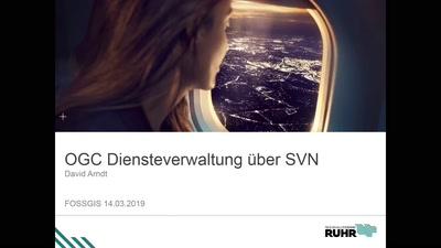 OGC Diensteverwaltung über SVN