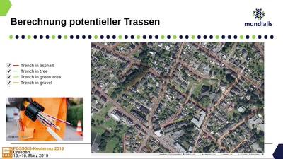Vom Luftbild zur Trassenplanung