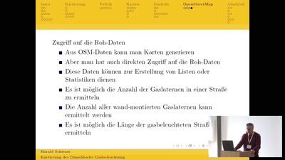 Erfassung der Düsseldorfer Gasbeleuchtung