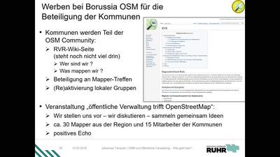 OSM und öffentliche Verwaltung – Wie geht das?