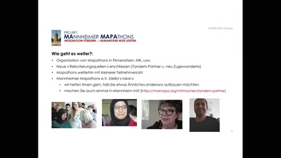Mannheimer Mapathons: Integration fördern, humanitäre Hilfe leisten