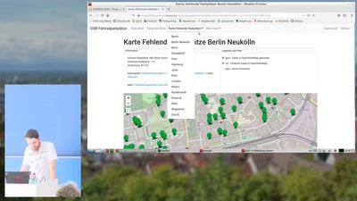 Bikeparking - Vergleich von Fahradparkplätzen zwischen OpenData und OpenStreetMap