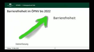 OPENER: Offene Plattform für die Crowd-basierte Erfassung von Informationen zu Barrieren an Haltestellen im ÖPNV