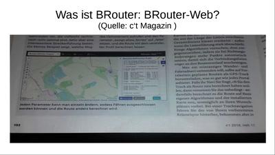 Routenplanung mit BRouter und BRouter-Web