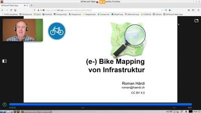 Infrastruktur-Mappen mit dem (E-)Bike