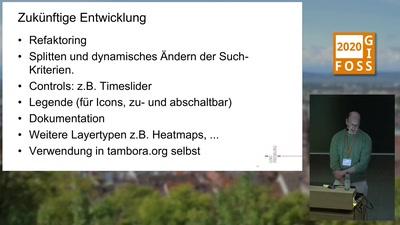 Javascript-Bibliotheken zur Einbindung von historischen Umwelt- und Klimainformationen als Kartenlayer