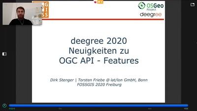 OSGeo-Projekt deegree 2020 - Neuigkeiten zu OGC API - Features
