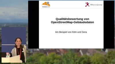 Qualitätsbewertung von OpenStreetMap-Gebäudedaten – Am Beispiel der Stadtgebiete Köln und Gera