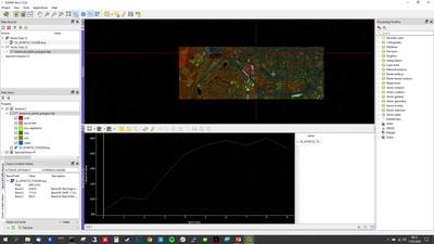 Visualisierung und Analyse von Satellitenbildern mit der EnMAP-Box