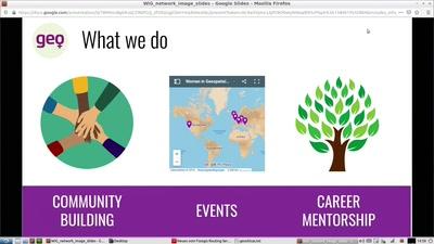 Women in Geospatial+ - Ein professionelles Netzwerk für Frauen in der GIS/Geo Industrie
