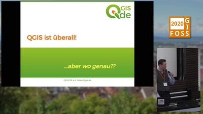 QGIS ist überall! Aber wo genau?