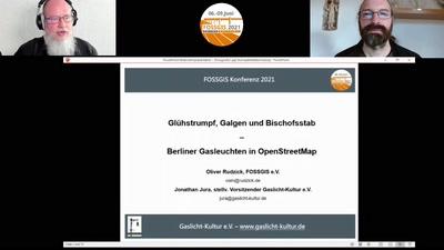 Glühstrumpf, Galgen und Bischofsstab - Berliner Gasleuchten in OpenStreetMap
