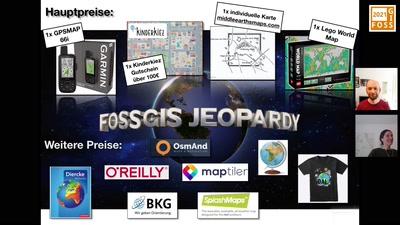 FOSSGIS-Jeopardy #1