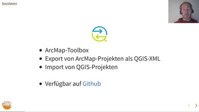 Der MapQonverter - Austausch zwischen ArcMap und QGIS