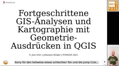 Fortgeschrittene GIS-Analysen und Kartographie mit Geometrien-Ausdrücken in QGIS