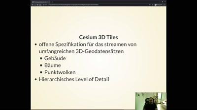 3D-Geoapplikationen mit CesiumJS - Daten, Einsatzmöglichkeiten und Spezifikationen