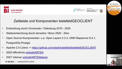 Serviceportal Stadt Bielefeld: Unterstützung durch Open Source basierte Geofunktionalität