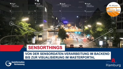 SensorThings – Von der Sensordaten-Verarbeitung im Backend bis zur Visualisierung im Masterportal