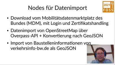 Geodatenverarbeitung mit Node-RED