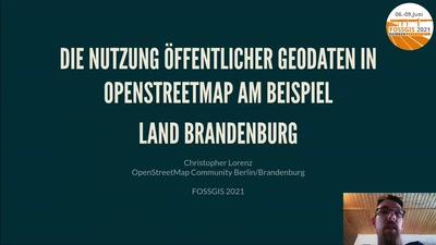 Die Nutzung öffentlicher Geodaten in OpenStreetMap am Beispiel Land Brandenburg