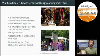 FOSS in der Gewässerentwicklungsplanung – Erfahrungsbericht aus Praxis und Lehre