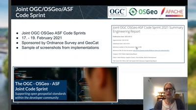 Neues aus dem OGC - Das Jahr 2021? Was lief schon? Was kommt noch?