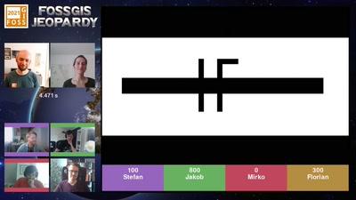 FOSSGIS-Jeopardy #2