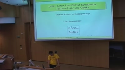 grml - Linux Live-CD für Systemadministratoren und Texttool-Freunde